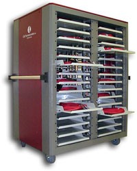 MOBILE 58 ADAPTER CABLE STORAGE AND MANAGEMENT CART